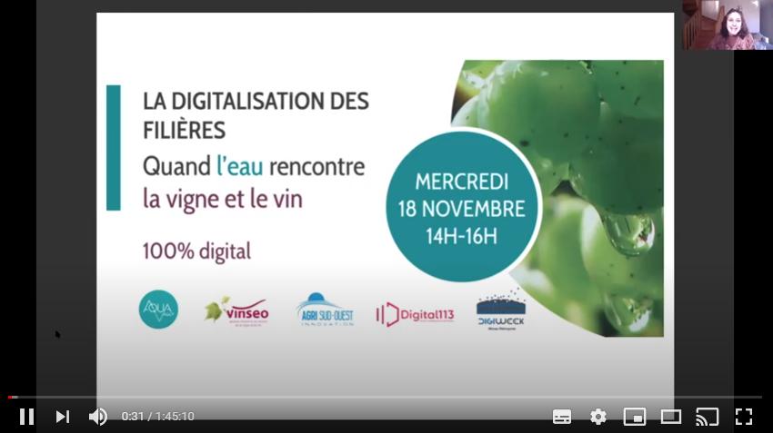 Conférence digitalisation - Vigne