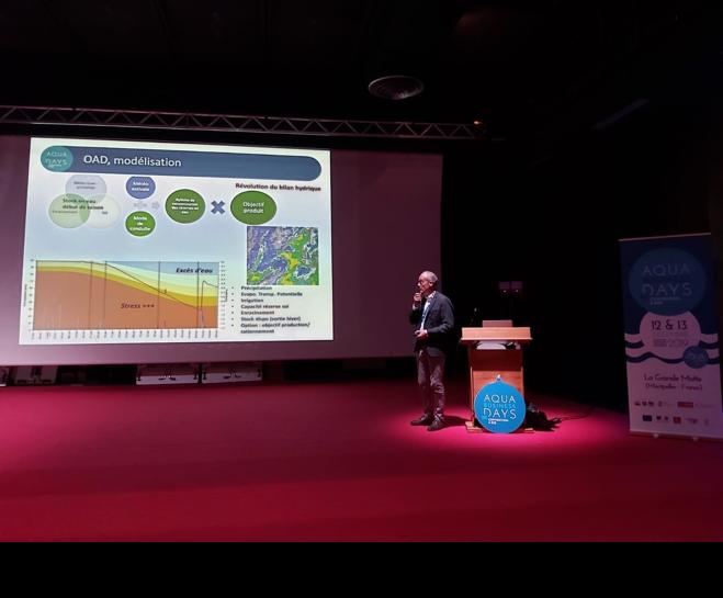 Conférence Irrigation et économies de l'eau