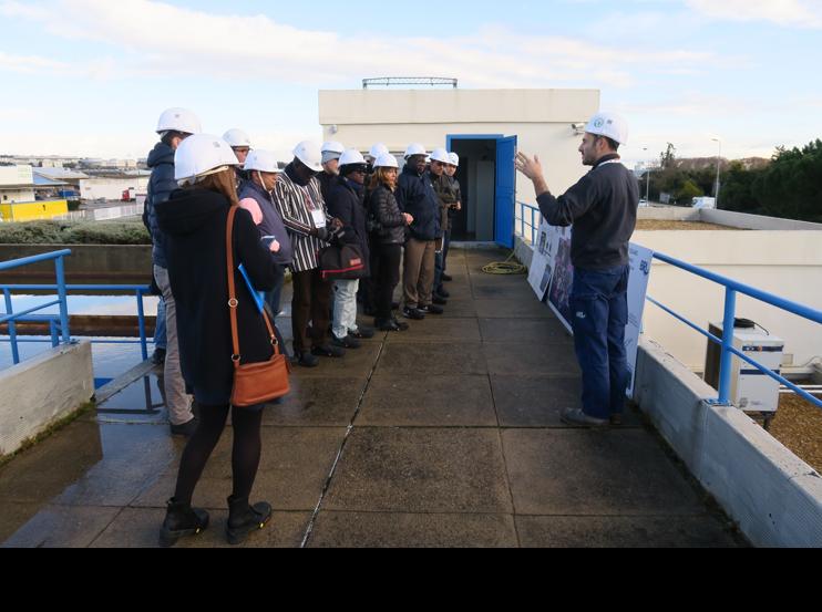 Visite station de potabilisation Nimes Ouest
